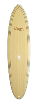"7' 2"" Mini mal roundtail thruster"